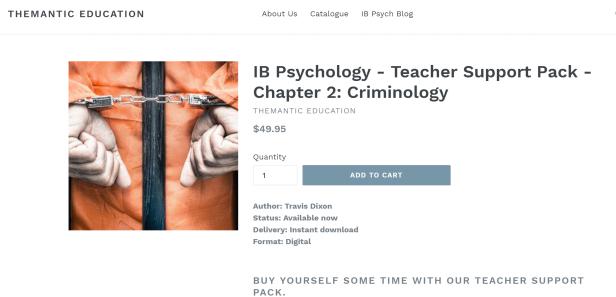 Criminology Pack