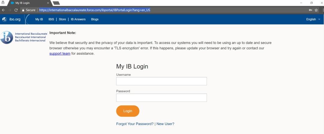 Access MyIB Forum 1
